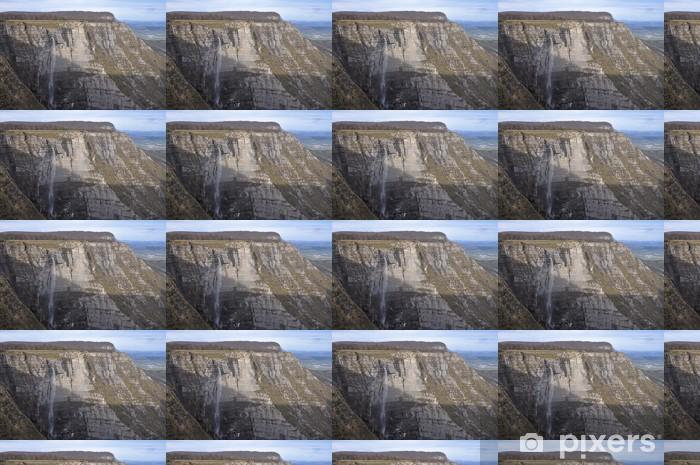 Tapeta na wymiar winylowa Wodospad w źródle rzeki Nervion, północnej Hiszpanii - Europa