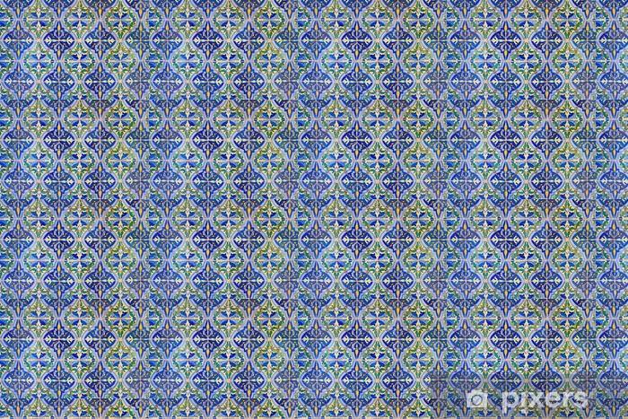 Tapeta na wymiar winylowa Stare płytki kwiatowy wzór tła - Tła