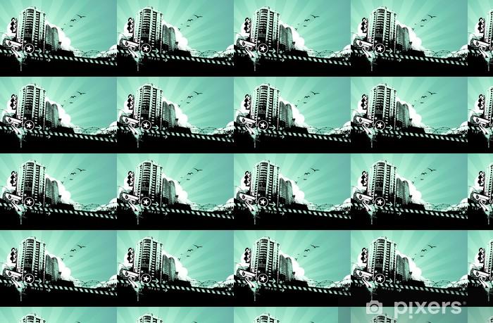 Vinylová tapeta na míru Grunge městské pozadí - Pozadí