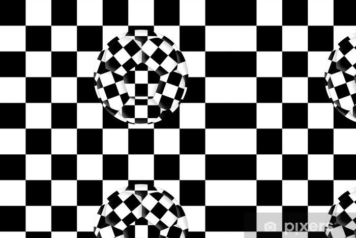 Vinylová Tapeta Chessball - Umění a tvorba