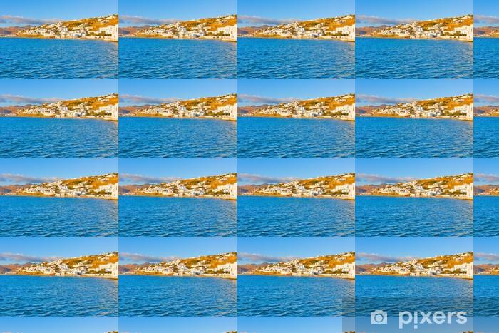 Vinylová tapeta na míru Řecko Mykonos, starý přístav pohled - Témata