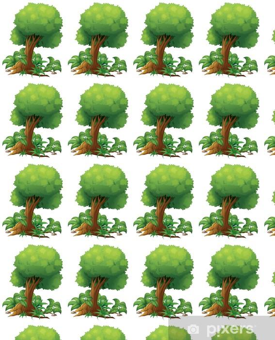 Papier peint vinyle sur mesure Un grand arbre - Arrière plans