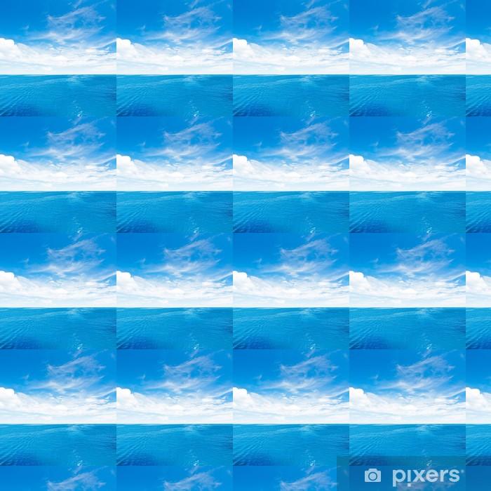 Papier peint vinyle sur mesure Ciel et Mer - Eau