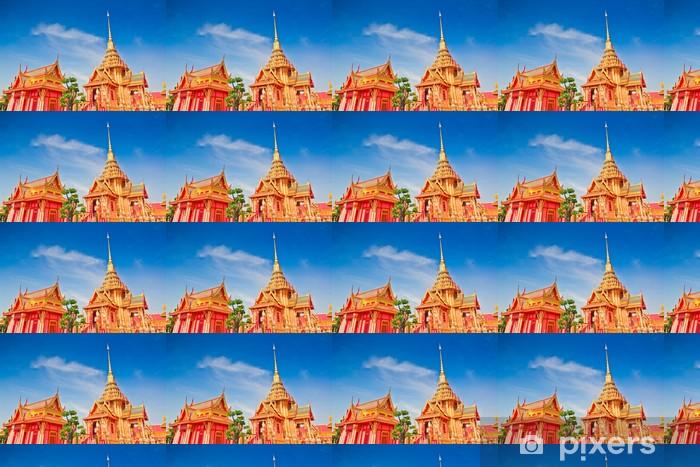 Papier peint vinyle sur mesure Funéraire royale thaïlandaise à Bangkok de Thaïlande - Religion