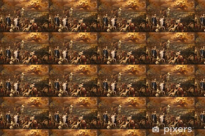 Vinylová tapeta na míru Bergamo - Crossing the Red Sea - barva forma katedrála - Evropa