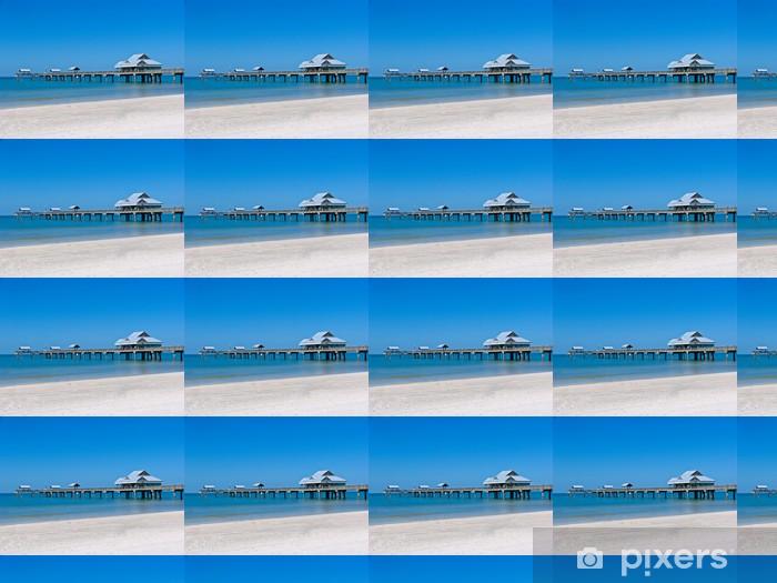 Vinyltapete nach Maß Cleawater Pier - Themen