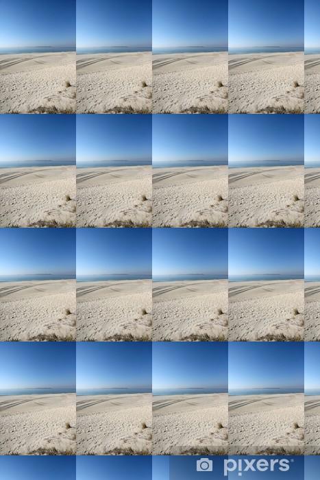 Papier peint vinyle sur mesure Dunes et les îles Ons, Galice - Vacances