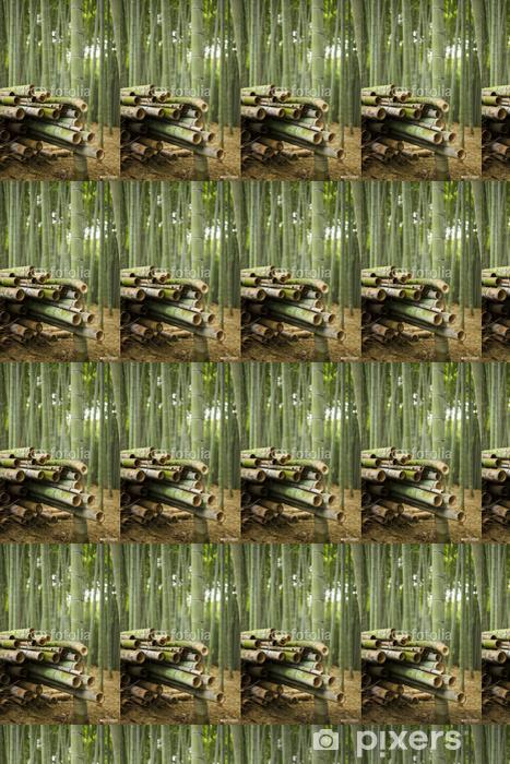 Tapeta na wymiar winylowa Zbierane w lesie Bambus - Azja