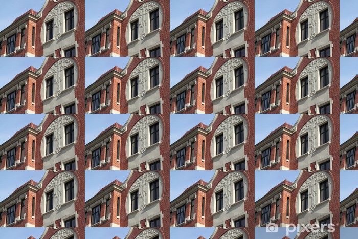 Building in Bytom. Vinyl custom-made wallpaper - Monuments