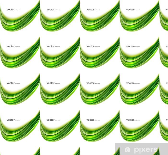 Tapeta na wymiar winylowa Streszczenie zielonym jasny kolorowe tło odrobina technologii wave - Znaki i symbole