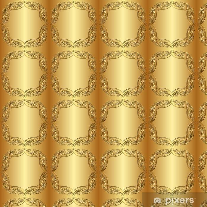 Papier peint vinyle sur mesure Fond d'or - Thèmes