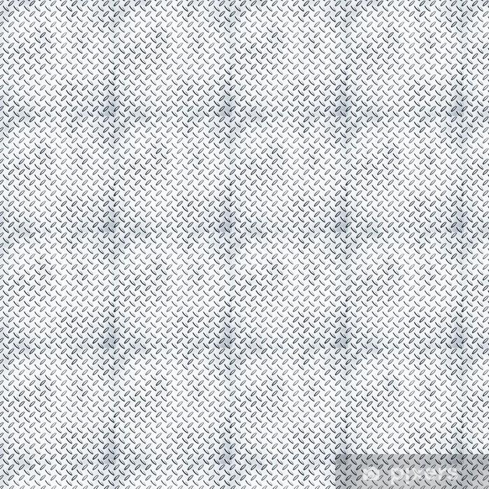 Papier peint vinyle sur mesure Métal plaque de diamant - Styles