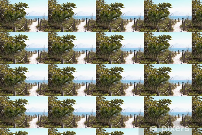 Tapeta na wymiar winylowa Droga do plaży - Wakacje