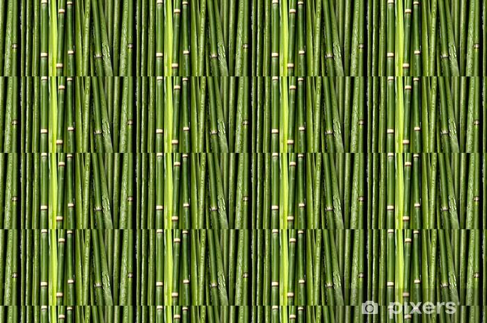 Carta da parati in vinile su misura Sfondo verde bambù - Temi