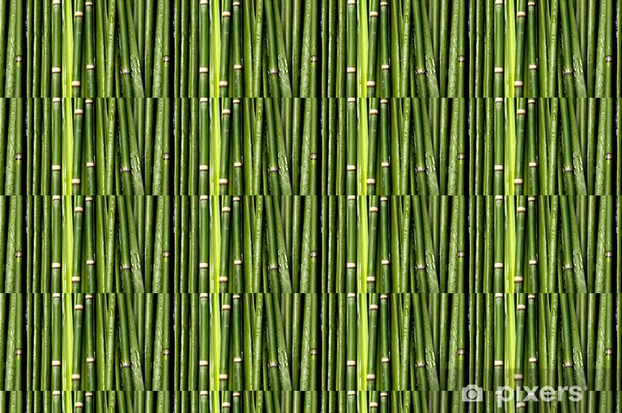 Vihreä bambusta tausta Räätälöity vinyylitapetti -