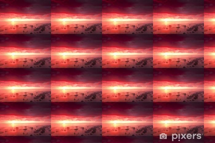 Beautiful Ocean Sunrise Wide Angle Photo Wallpaper Pixers We