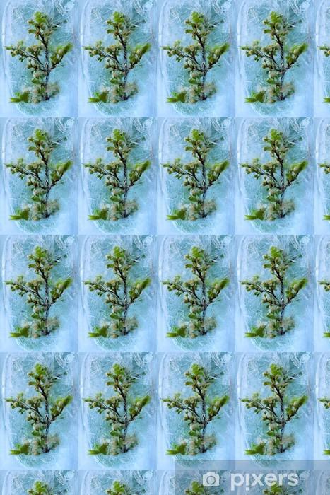 Vinylová tapeta na míru Frozen třešeň květ - Květiny