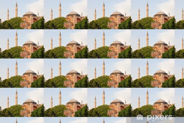 Tapeta na wymiar winylowa Hagia Sophia w Stambule - Budynki użyteczności publicznej