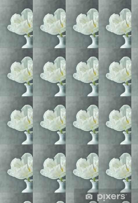 Tapeta na wymiar winylowa Biały tulipan - Kwiaty