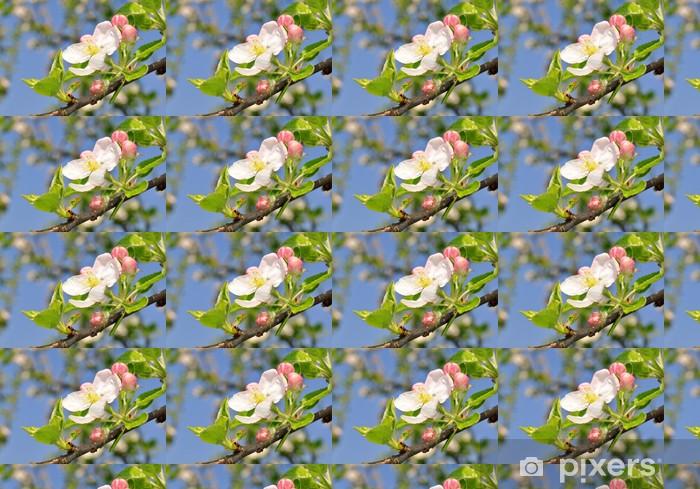 Papier peint vinyle sur mesure Fleurs de printemps - Saisons