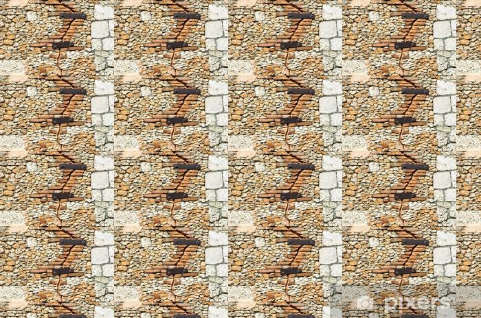 Tapeta na wymiar winylowa Tekstury ścian z kamienia - Tekstury