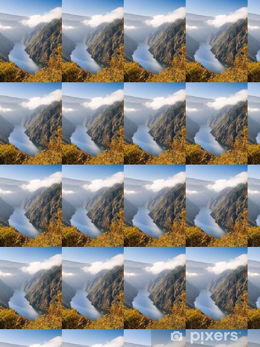 Tapeta na wymiar winylowa Sil kanion rzeki, w Orense, Hiszpania - Góry