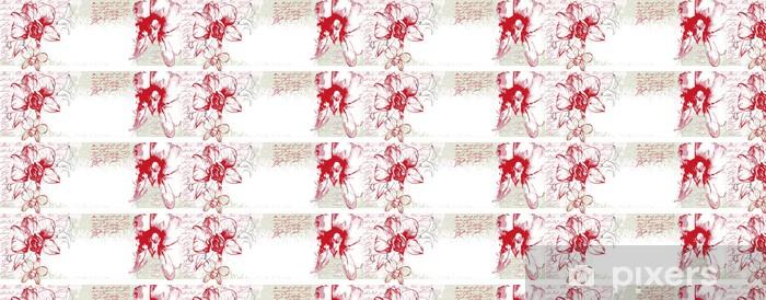 Papier peint vinyle sur mesure Orhids - Styles