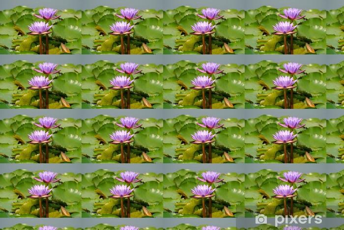 Tapeta na wymiar winylowa Pink lotus kwiaty - Kwiaty