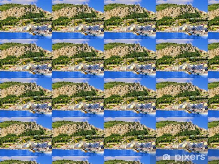 Vinylová tapeta na míru Pohled Marina Grande, přístav Capri, Itálie - Evropa