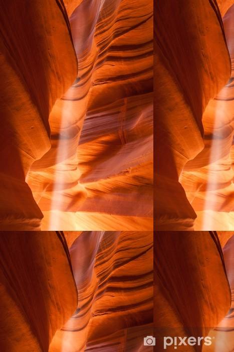 Vinylová Tapeta Světelný paprsek v Antelope Canyon v Arizoně - Amerika