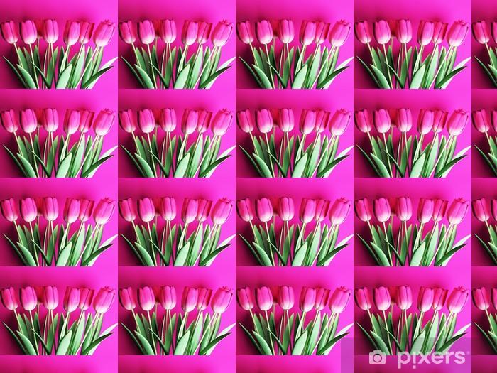 Tapeta na wymiar winylowa Wiele pięknych tulipanów - Tematy
