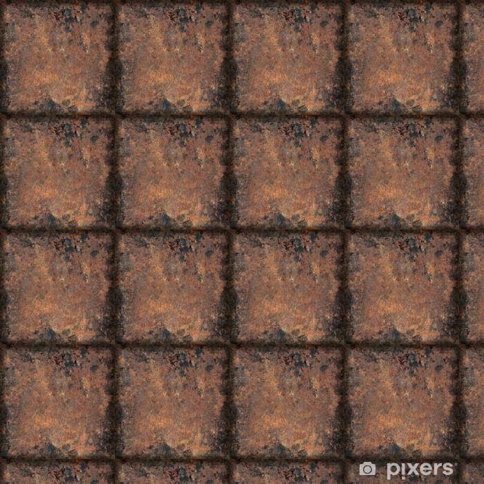 Tapeta na wymiar winylowa Grunge zardzewiały metal tekstury - Tła