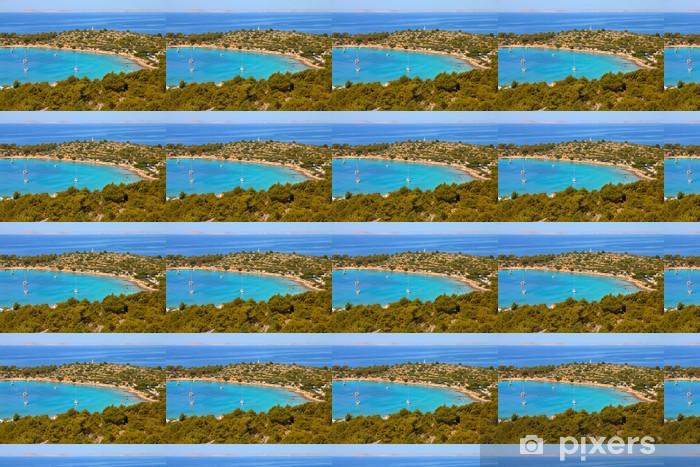 Croatia - Adriatic Sea in Murter island Vinyl custom-made wallpaper - Themes