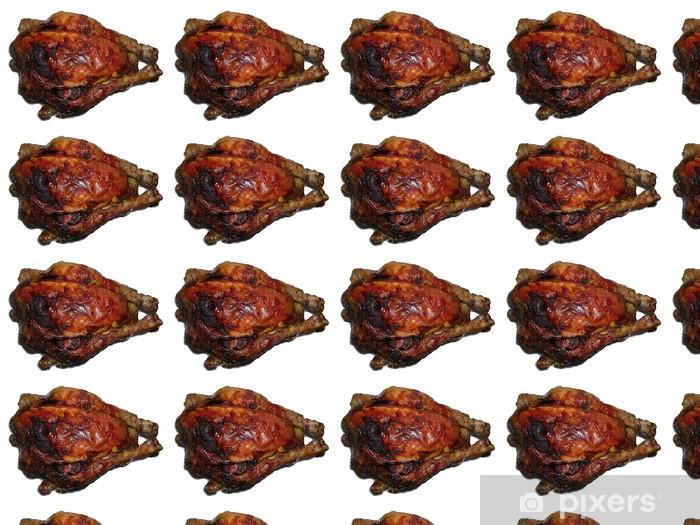 Tapeta na wymiar winylowa Wytnij pieczonego kurczaka - Mięso