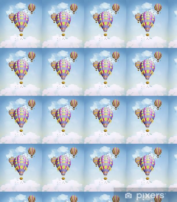 Papier peint vinyle sur mesure Ballons à air dans le ciel - Autres sentiments