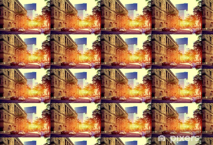 Papier peint vinyle sur mesure Brisbane City - Océanie