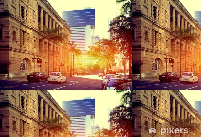 Vinyltapet Brisbane City - Oceanien