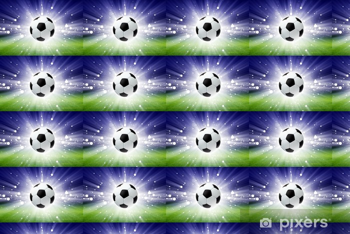 Tapeta na wymiar winylowa Piłka nożna, stadion, światło -