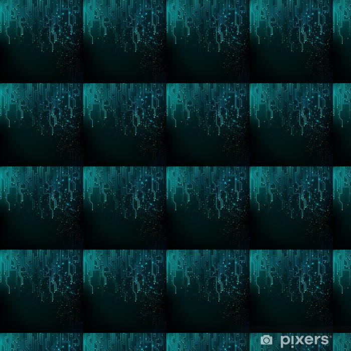 Papier peint vinyle sur mesure Résumé lumières fond bleu - Concepts