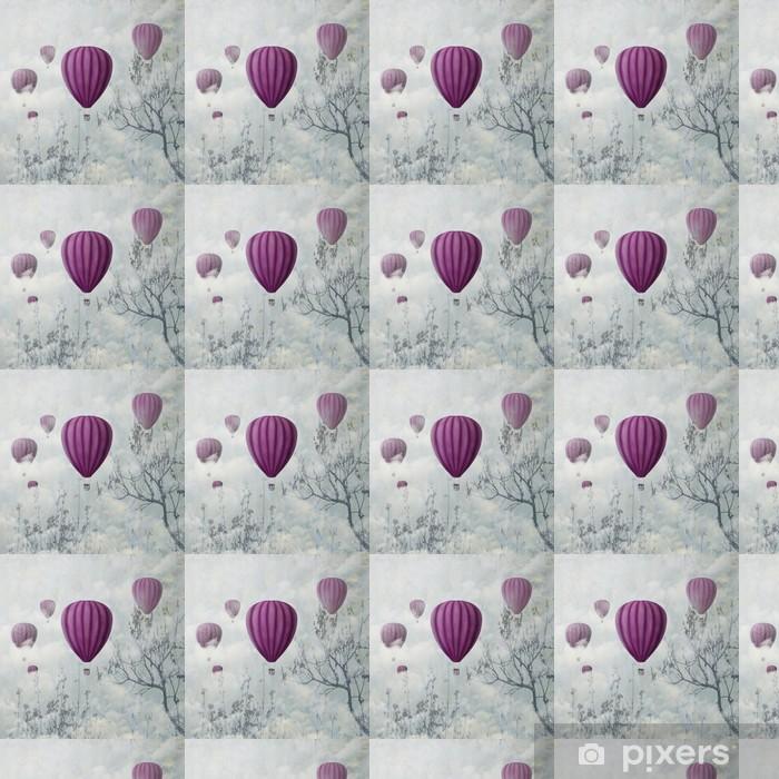 Pink Balloons Vinyl Custom-made Wallpaper - iStaging