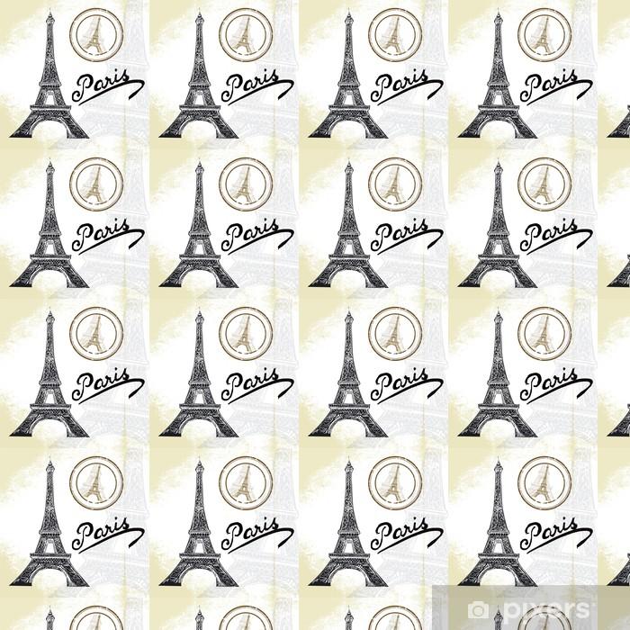 Tapeta na wymiar winylowa Francja, Paryż - wyciągnąć rękę Wieża Eiffla - Style