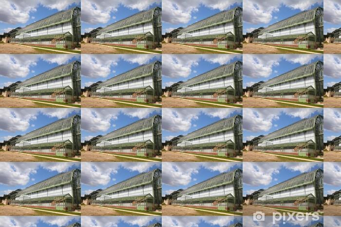Vinyltapet Jardin des Plantes drivhus i Paris, Frankrike - Europeiske byer