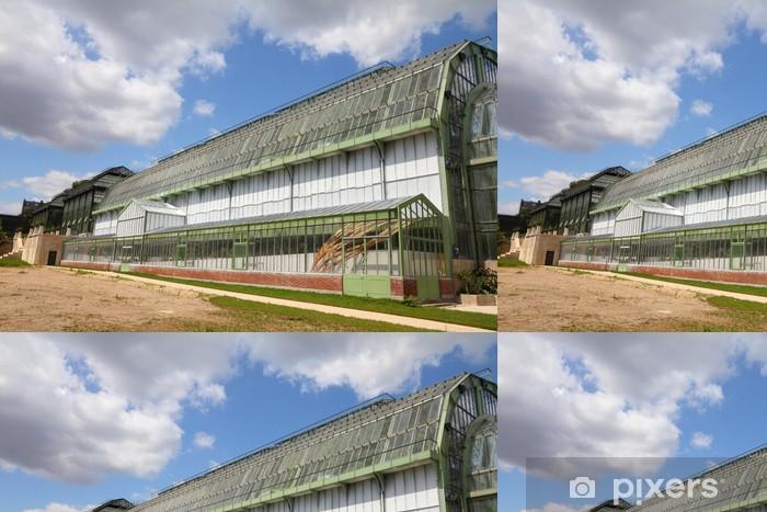Vinylová Tapeta Jardin des Plantes skleník v Paříži, Francie - Evropská města