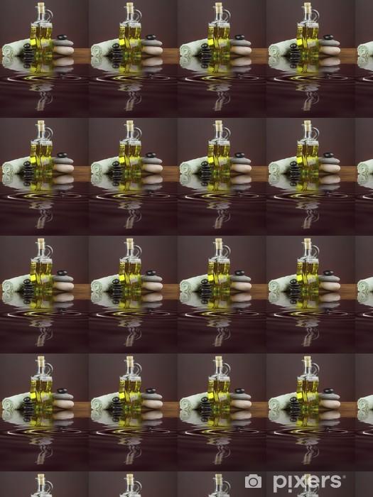 Papier peint vinyle sur mesure Spa objets reflète dans l'eau - Santé et médecine