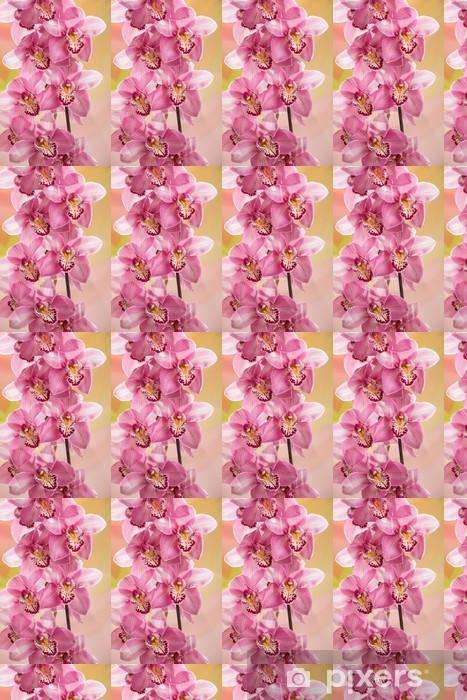 Papier peint vinyle sur mesure Direction d'une orchidée - Thèmes