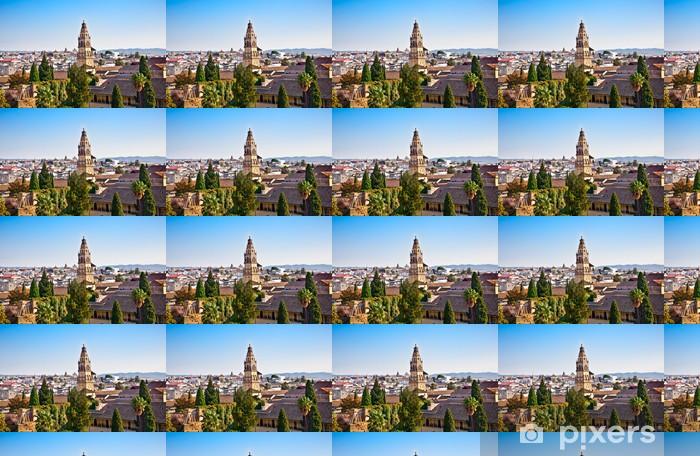 Tapeta na wymiar winylowa Panoramiczny widok z Alcazar na dachach Kordoby, Andaluzja, Hiszpania - Europa