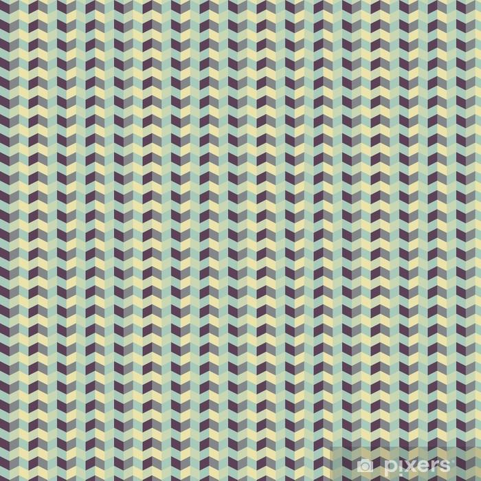 Papier peint vinyle sur mesure Abstract retro geometric pattern - Thèmes
