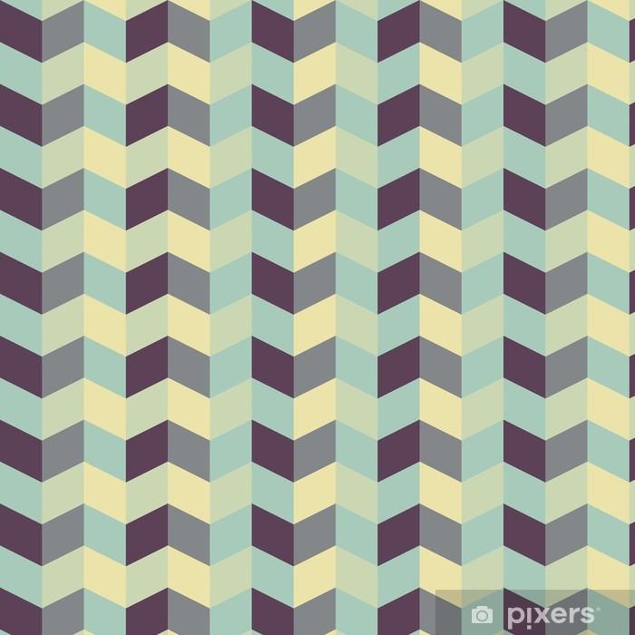 Tapeta winylowa Streszczenie retro geometryczny wzór - Tematy