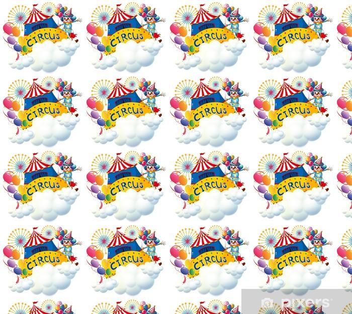 Vinylová tapeta na míru Cirkus nad mraky - Jiné pocity