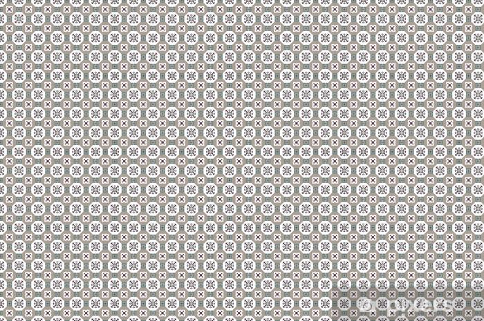 Fliese Kachel Muster Vinyl custom-made wallpaper - Heavy Industry